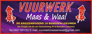 Vuurwerk Maas en Waal